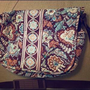 Vera Bradley laptop crossbody bag